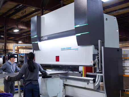 BMP Metals Makes Substantial Upgrades in Press Brake Machinery