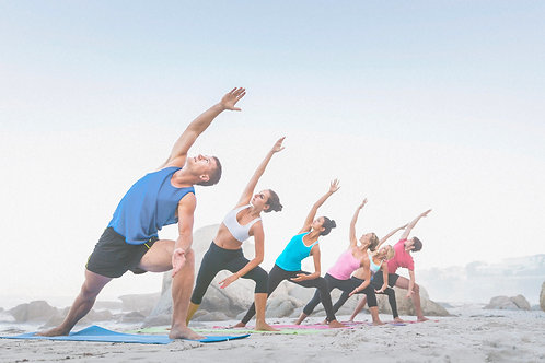 YOGA ON THE BEACH - Wednesday's at 7am
