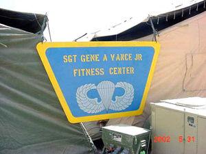 SGT Gene A Vance Jr Fitness Center