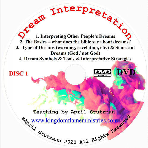 Dream Interpretation by April Stutzman DVD