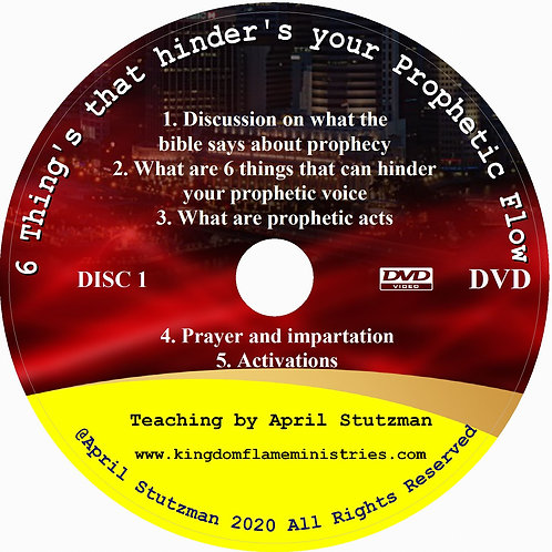 6 things that Hinder's your prophetic