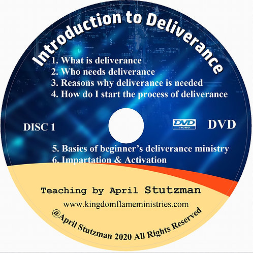 Introduction to Deliverance by April Stutzman DVD