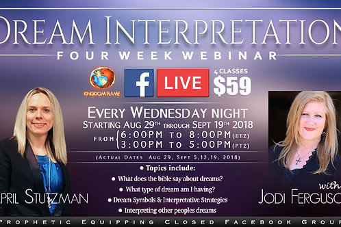 April Stutzman and Jodi -Dream Interpretation