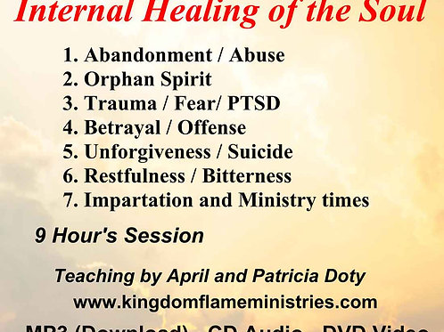 Internal Healing of the Soul by April Stutzman