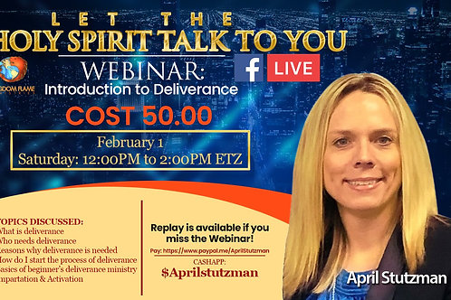 Introduction to Deliverance april stutzman