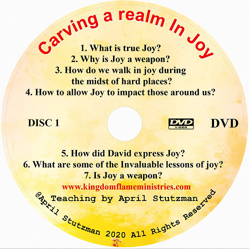 Carving a realm in Joy by April Stutzman