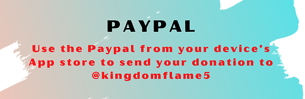 giving to kingdom flame ministries paypal