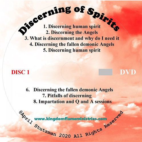 discerning of spirits by april stutzman dvd