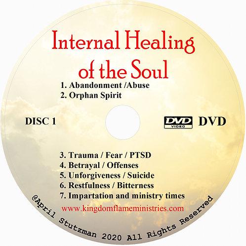 Internal healing of the Soul DVD by April Stutzman
