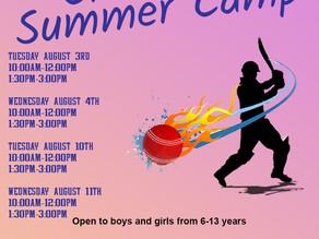 Summer Camp dates announced
