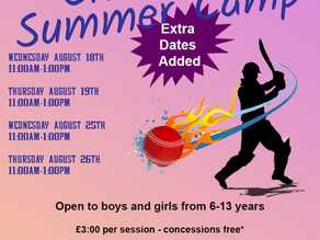 Extras Summer Camp Dates Announced