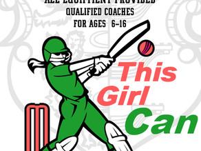 Girls' Cricket to start at Brightlingsea Cricket Club