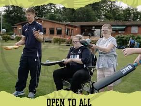 Indoor Disability Cricket at Brightlingsea Cricket club