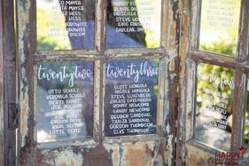 Custom Wedding Calligraphy