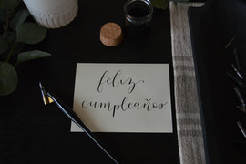 Memorable Events Calligraphy Package