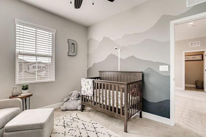 Custom Baby's Room Mural 9