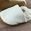 Thumbnail: White Houndstooth Moccasins