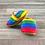 Thumbnail: Watercolor Rainbow Moccasins