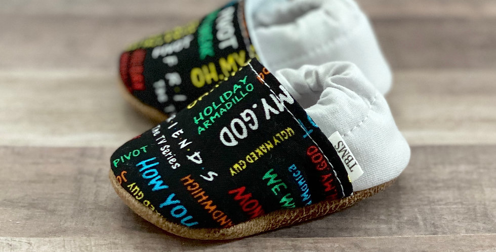 Friends Phrases Moccasins