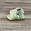 Thumbnail: Mint Textured Moccasins