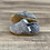 Thumbnail: Dusty Blue Textured Moccasins