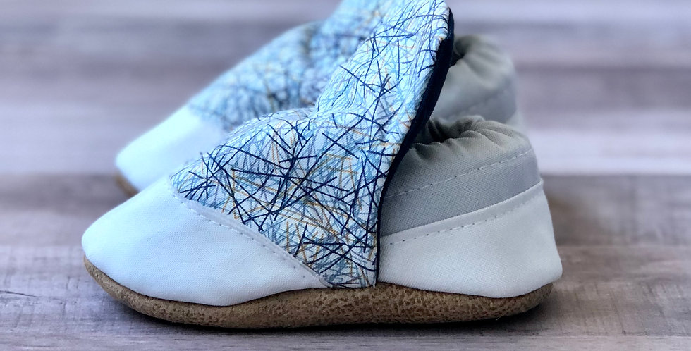 Modern Lines High Top Moccasins