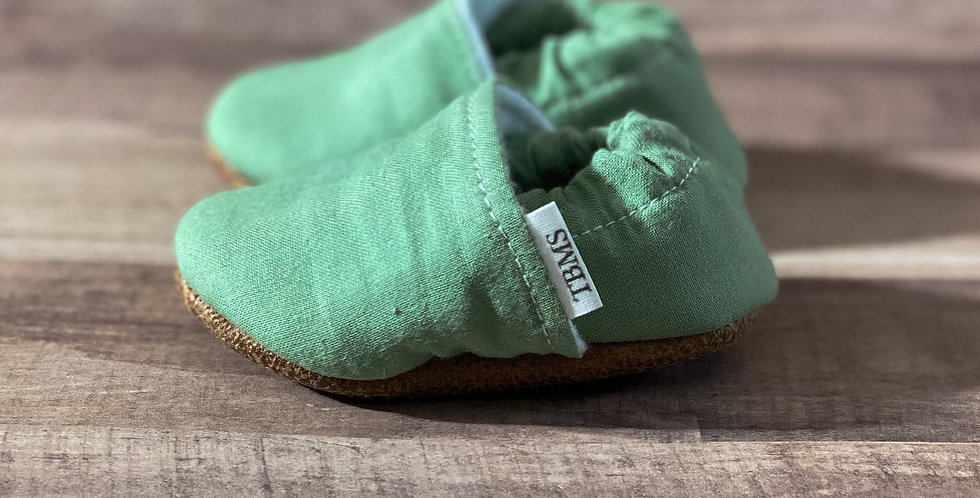 Green Moccasins