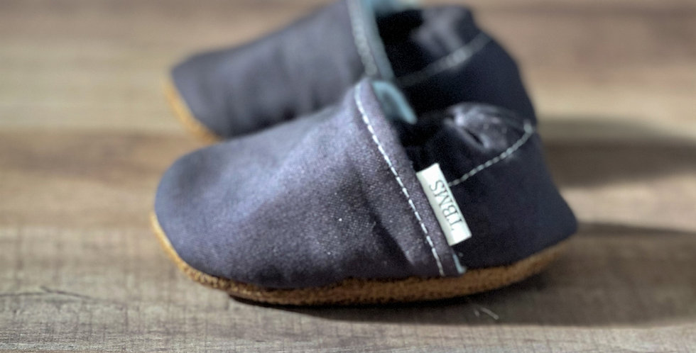 Dove Gray Moccasins