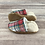 Thumbnail: Red and Green Holiday Plaid Moccasins