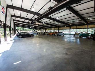 HPC01: garagem para carros especiais