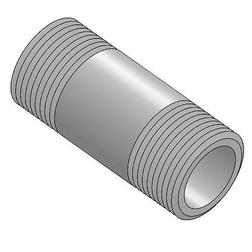 """Pipe Nipple, 1"""" nominal (PVDF)"""