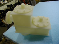 PVDF plastic conservation vent fabrication
