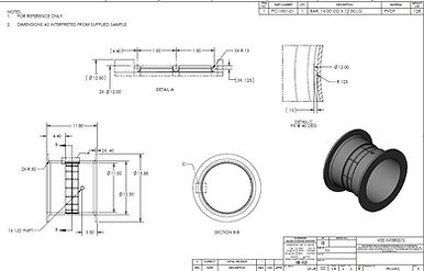 plastic machined and engineered drafting consultion