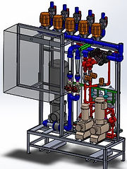 3d modeling services CAD valves piping filters