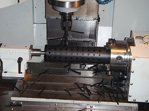 4th axis machining Polyethylene