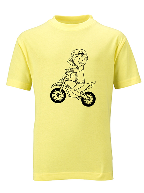 Motorradfahrer Patrick