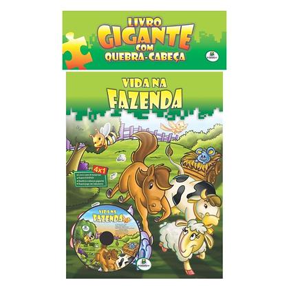 Gigante c/ quebra-cabeça: Vida na fazenda