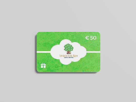 Cartão Presente €50