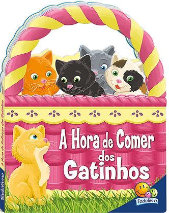 Livrinhos em cestinhos: A hora de comer dos gatinhos