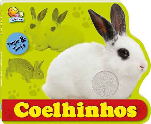 Toque & Sinta - Animais bebês: Coelhinhos
