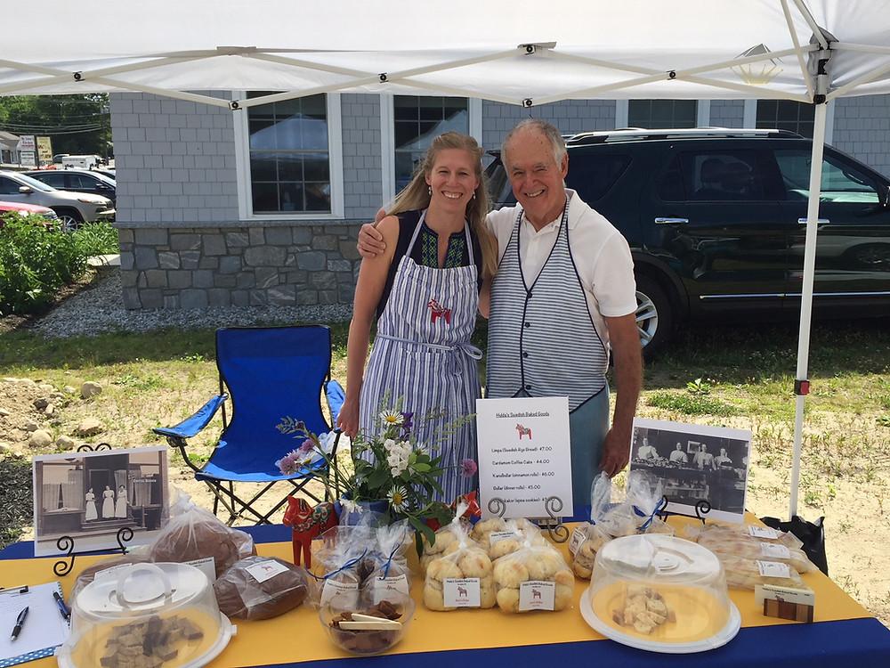 Hulda's Swedish Baked Goods last Saturday June 16th