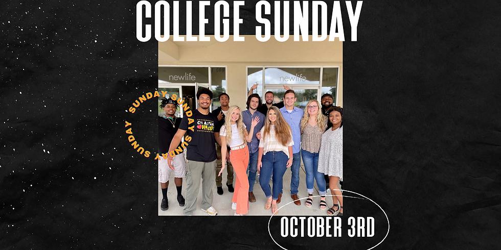 College Sunday