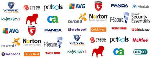 All Antivirus list