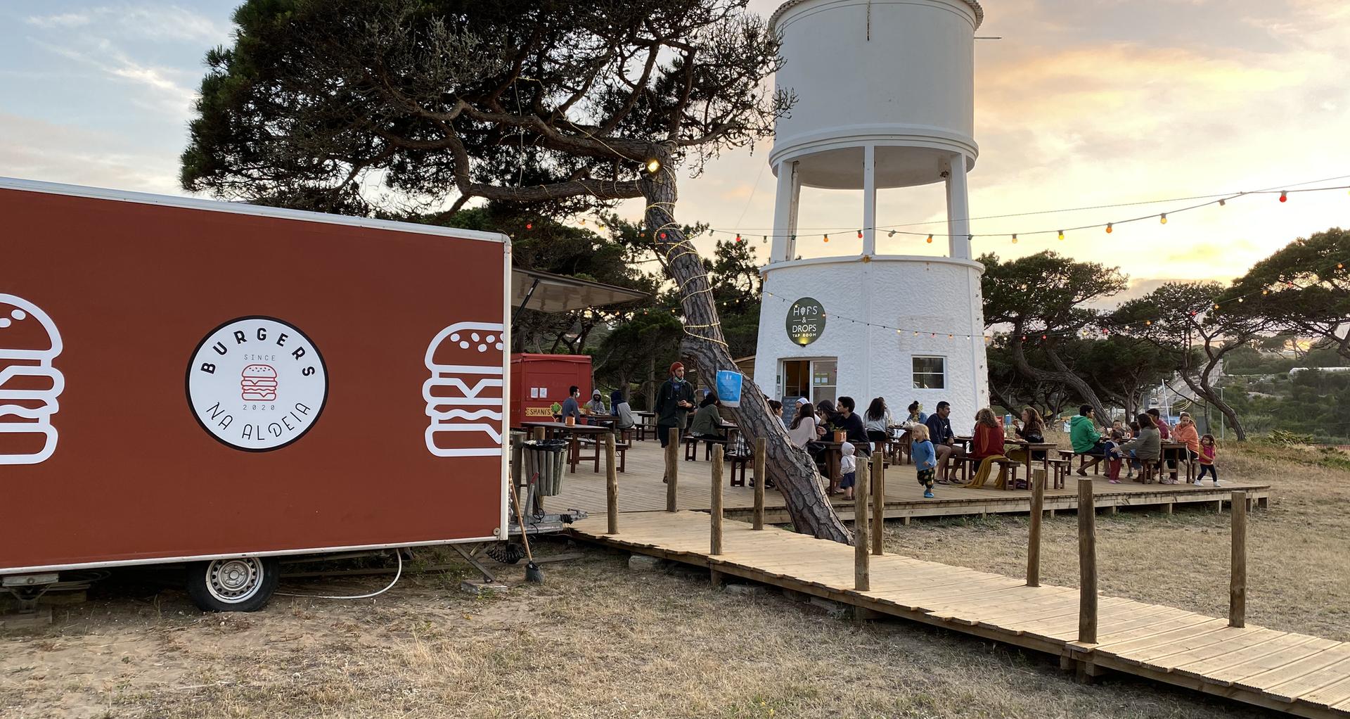 Burgers na Aldeia