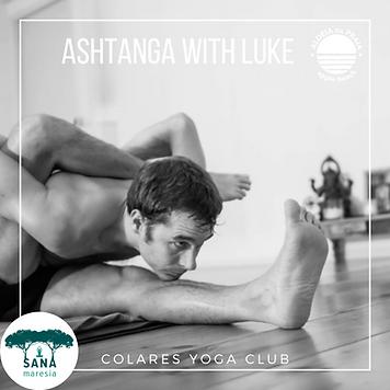 Ashtanga Yoga with Luke Jordan Aldeia da