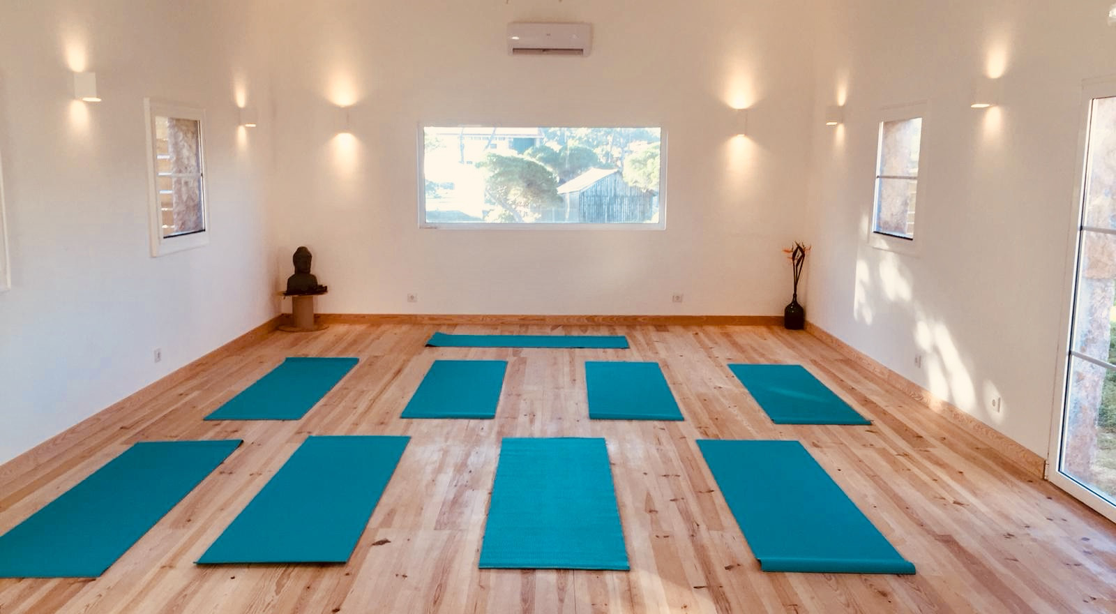 Yoga class Aldeia da Praia