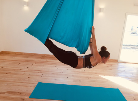 Aerial Yoga with Catarina Mota