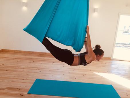 Aerial Yoga with Catarina Mota