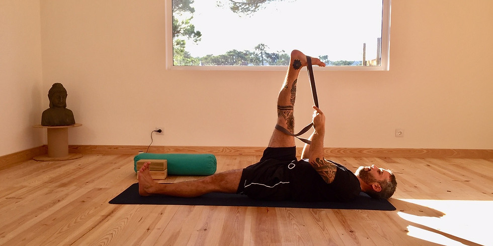 Aula Intensiva de Hatha Yoga com Pedro Morais
