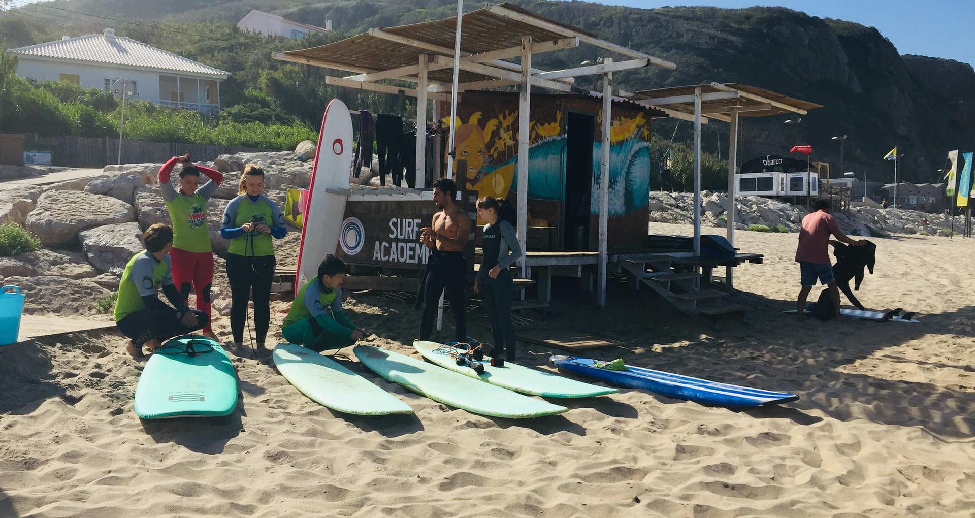 Surf Academy Praia Grande Sintra